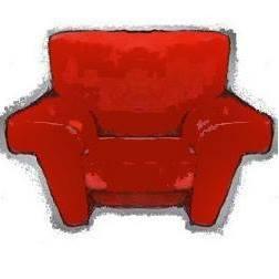 la poltrona rossa